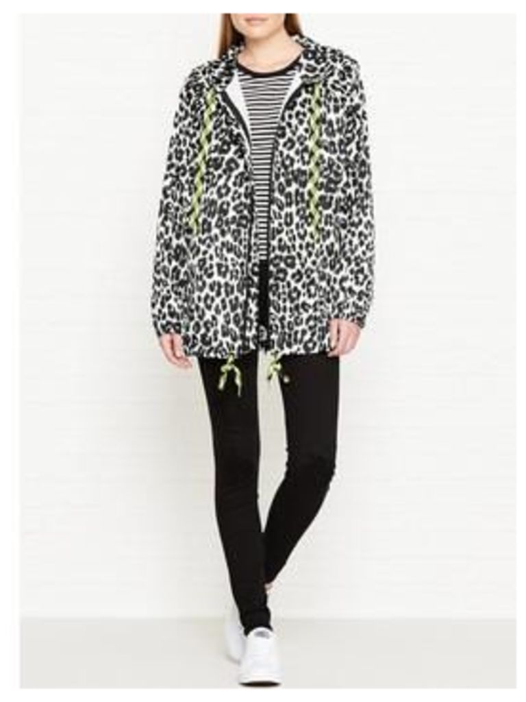 MARC JACOBS Leopard Printed Hoodie - Multi, Size L