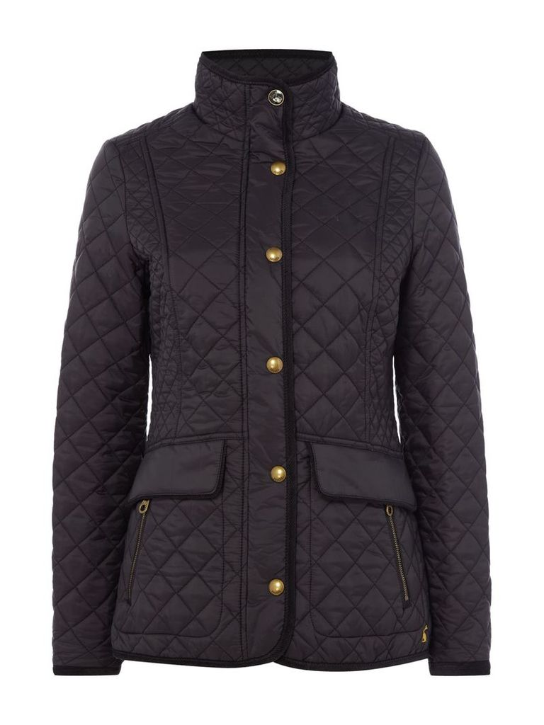Joules Quilted jacket, Black
