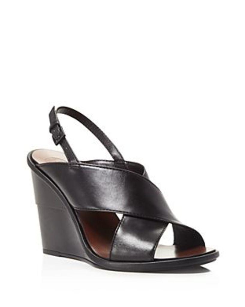 Tory Burch Gabrielle Slingback Wedge Sandals