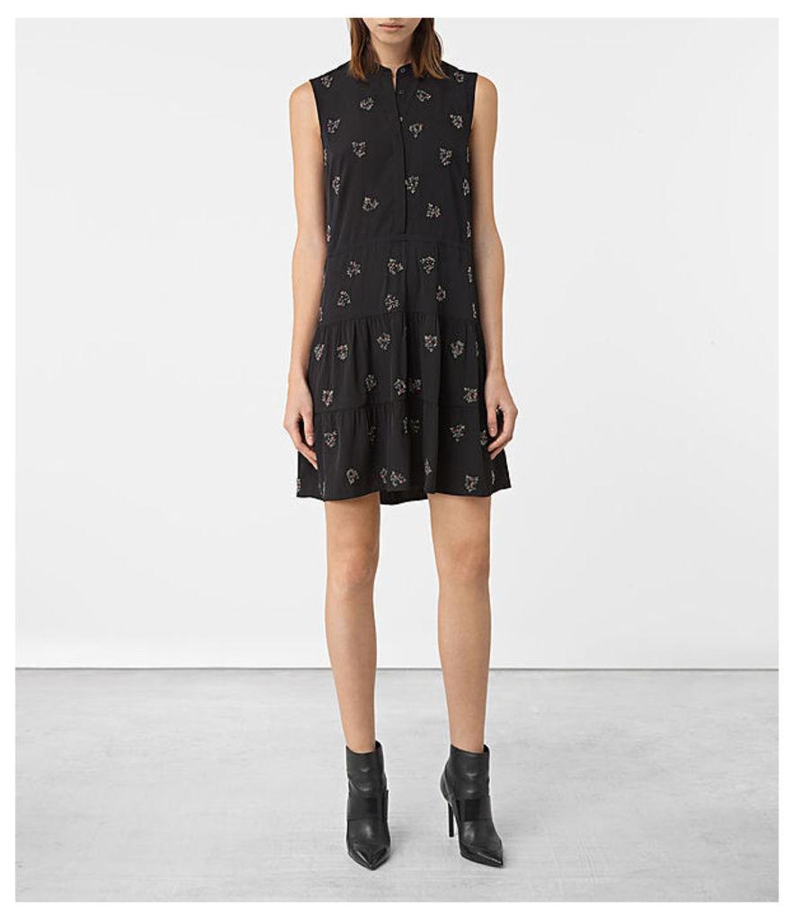 Anouk Embellished Lin Dress