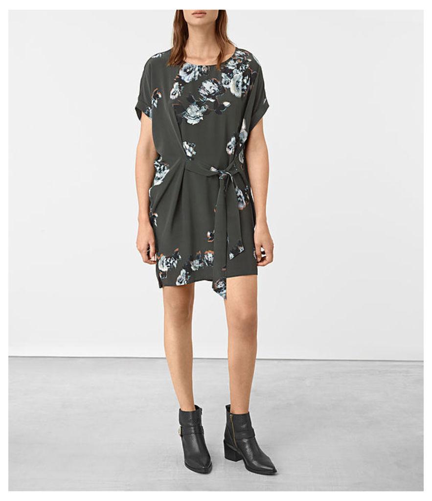 Sonny Flora Silk Dress