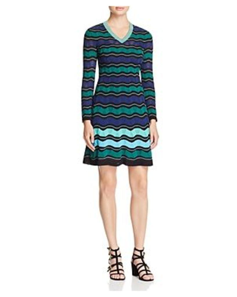 M Missoni Ripple Ribbon Stitch Dress