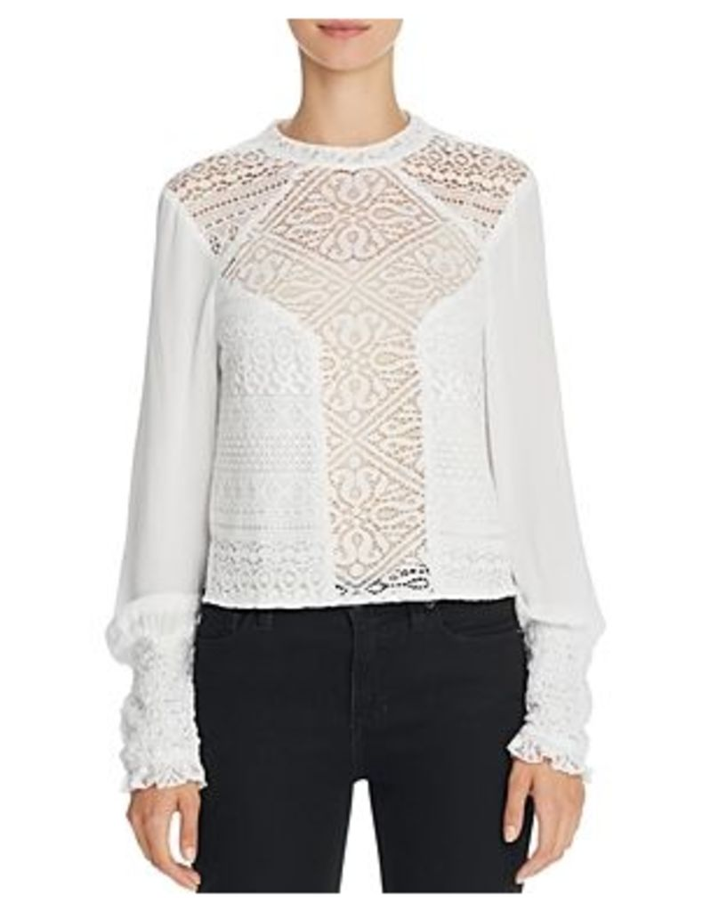 Band of Gypsies Lace Front Blouse