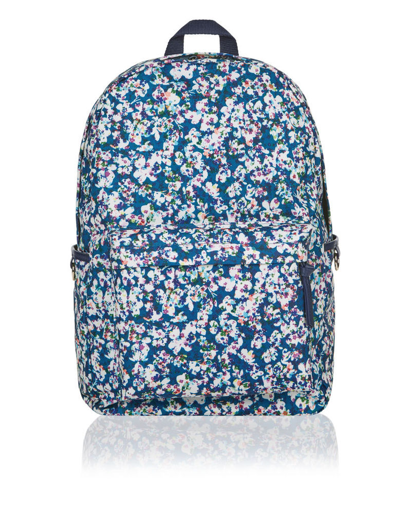 Jessie Blurred Floral Dome Backpack