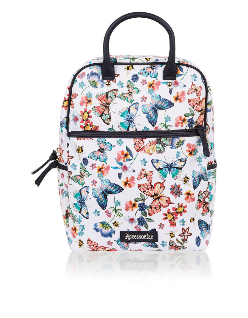Butterfly Top Handle Backpack