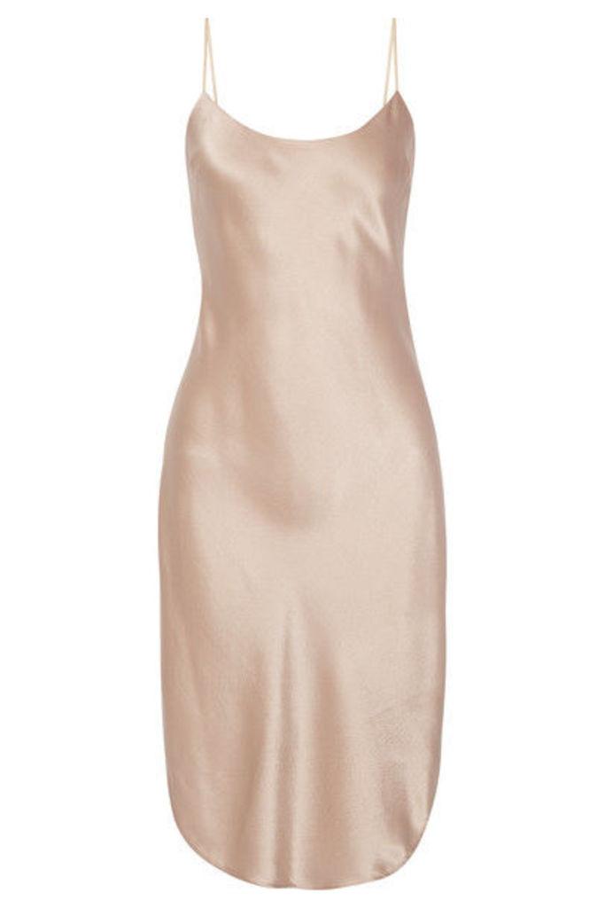 Maiyet - Silk-charmeuse Dress - Beige
