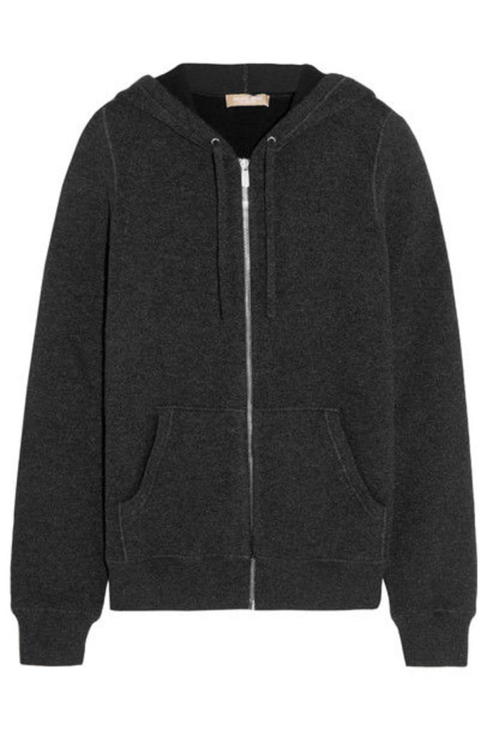 Michael Kors Collection - Cashmere-blend Hooded Top - Charcoal