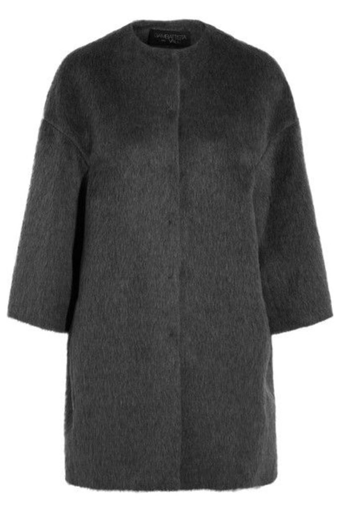 Giambattista Valli - Llama And Wool-blend Coat - Gray