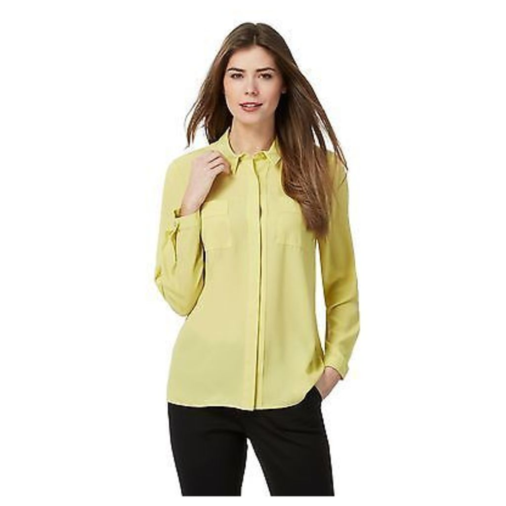 Principles By Ben De Lisi Womens Yellow Printed Shirt From Debenhams