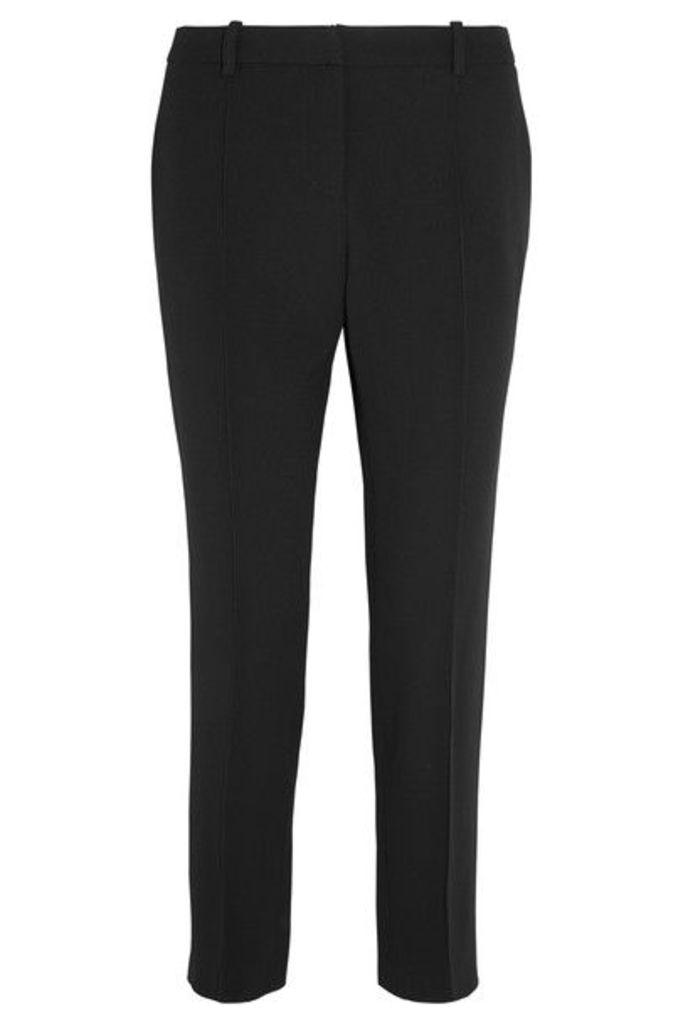 Vanessa Bruno - Moustique Cropped Crepe Straight-leg Pants - Black