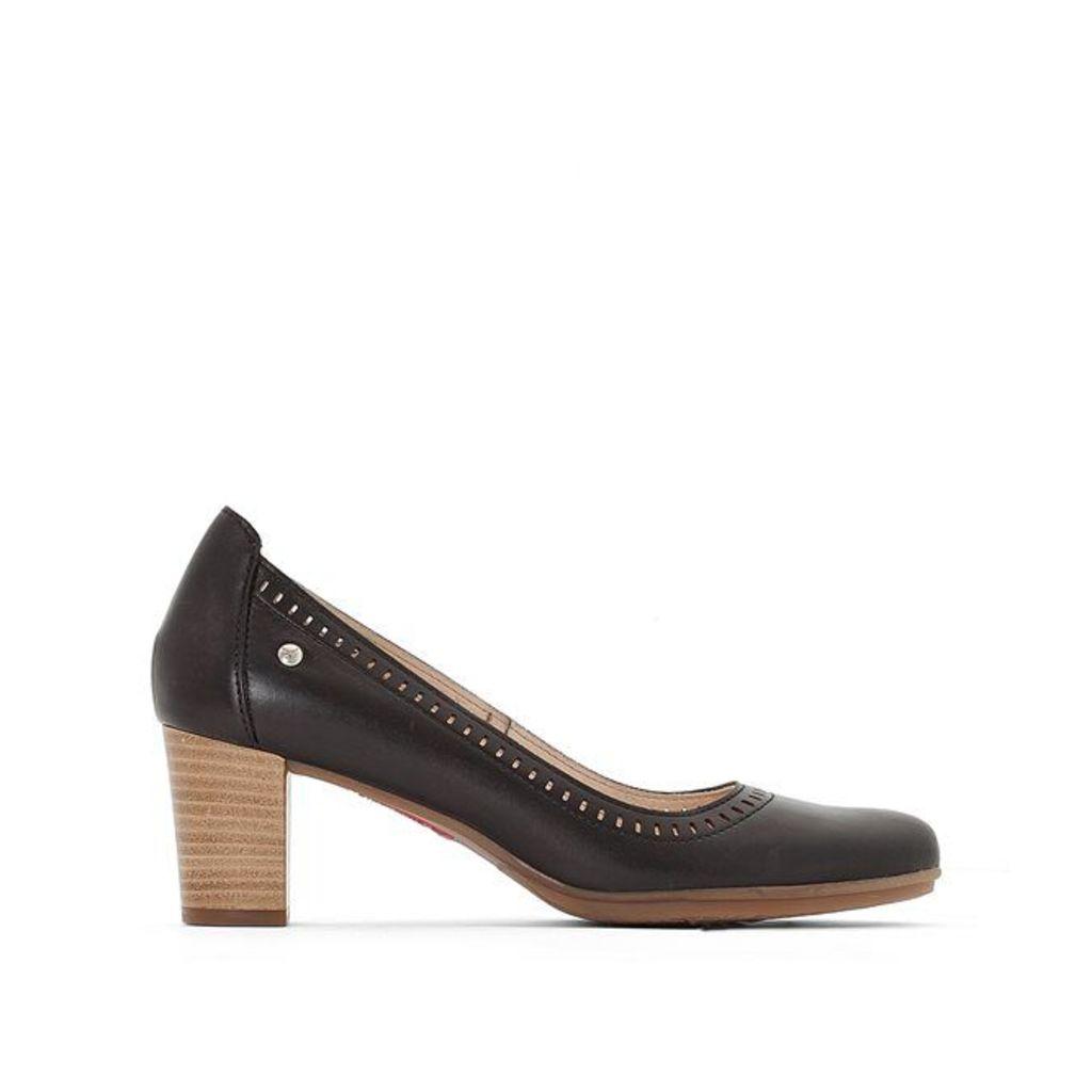 Segovia Leather Heels
