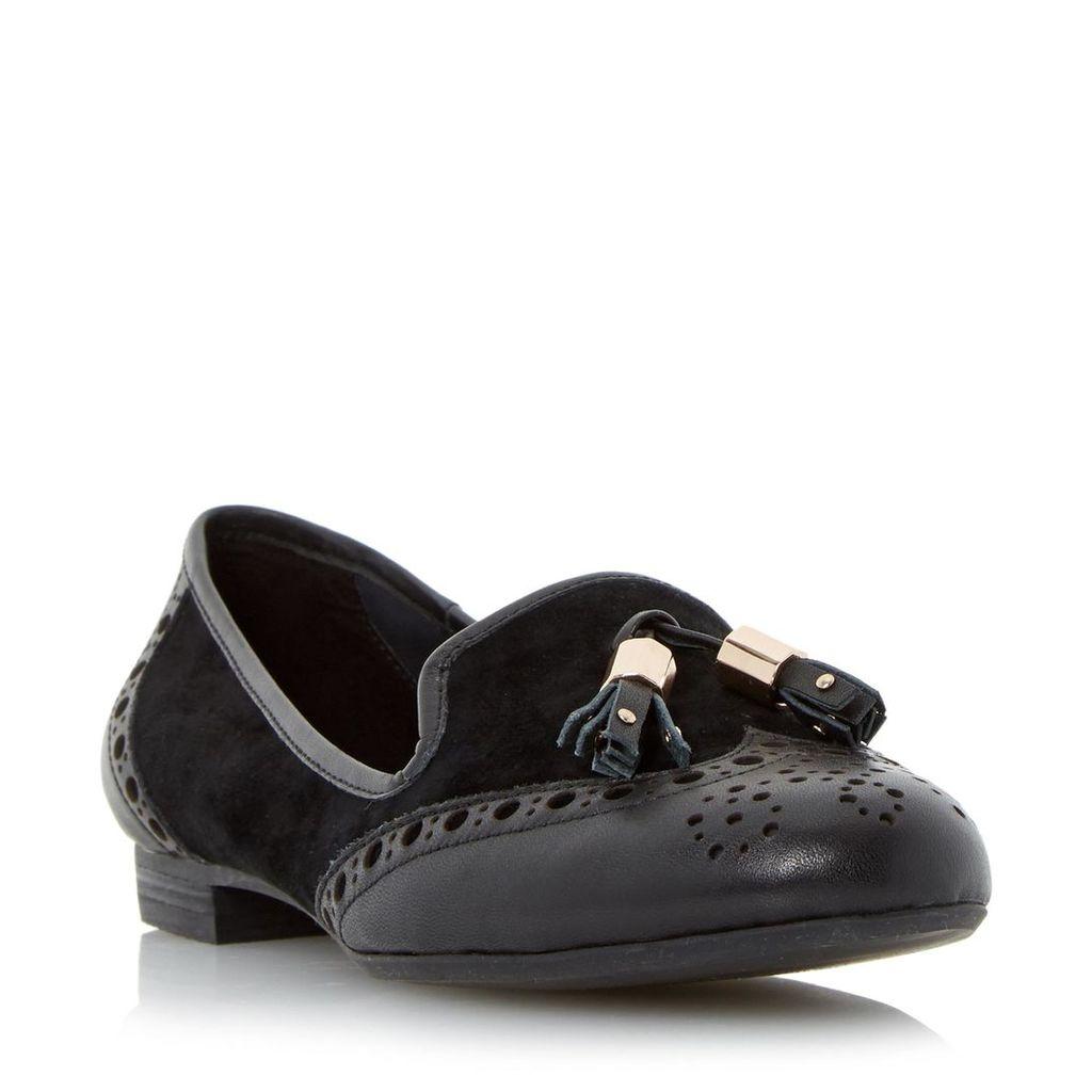 Loki Brogue Tassel Detail Loafer Shoe