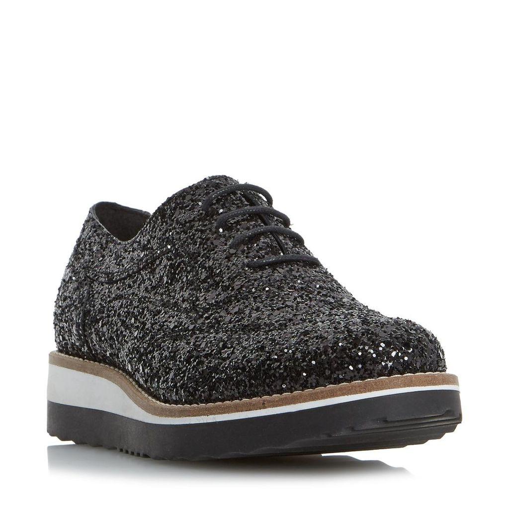 Fleek Glitter Flatform Shoe