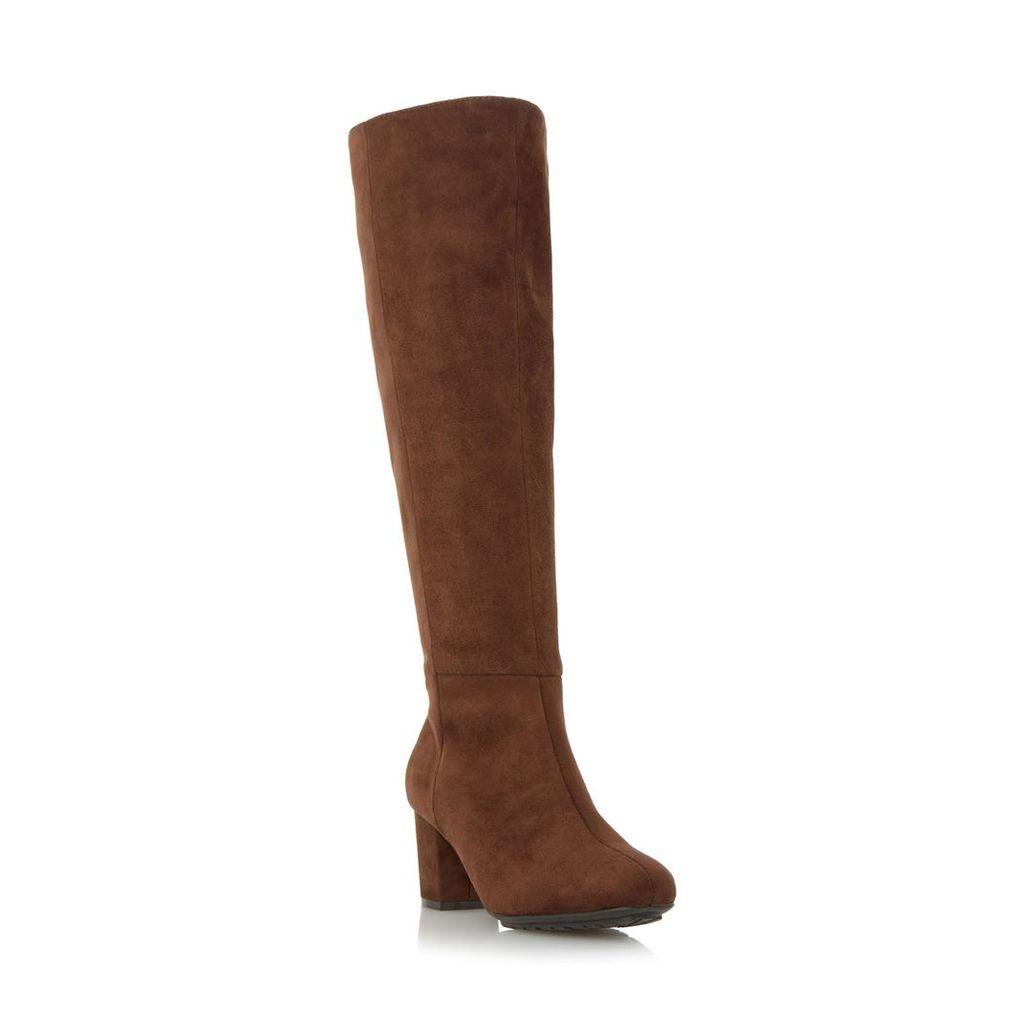 Shilo Block Heel Knee High Boot