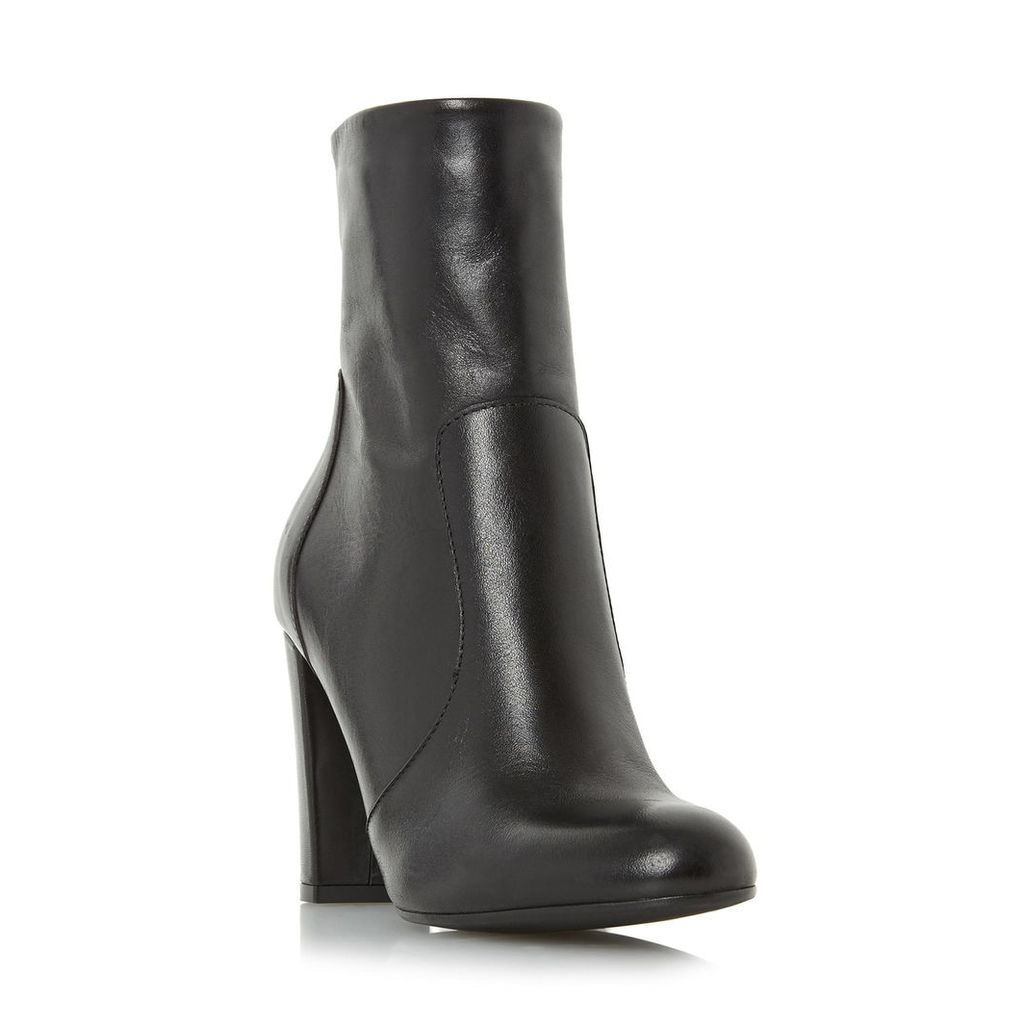 Otto Round Toe Heeled Ankle Boot