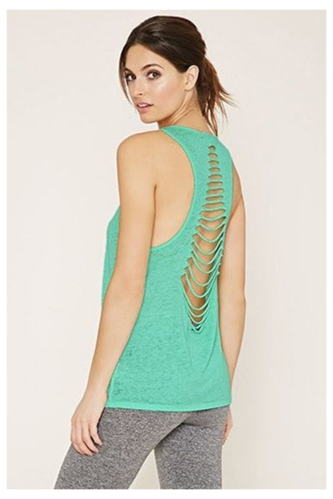 Active Cutout-Back Tank