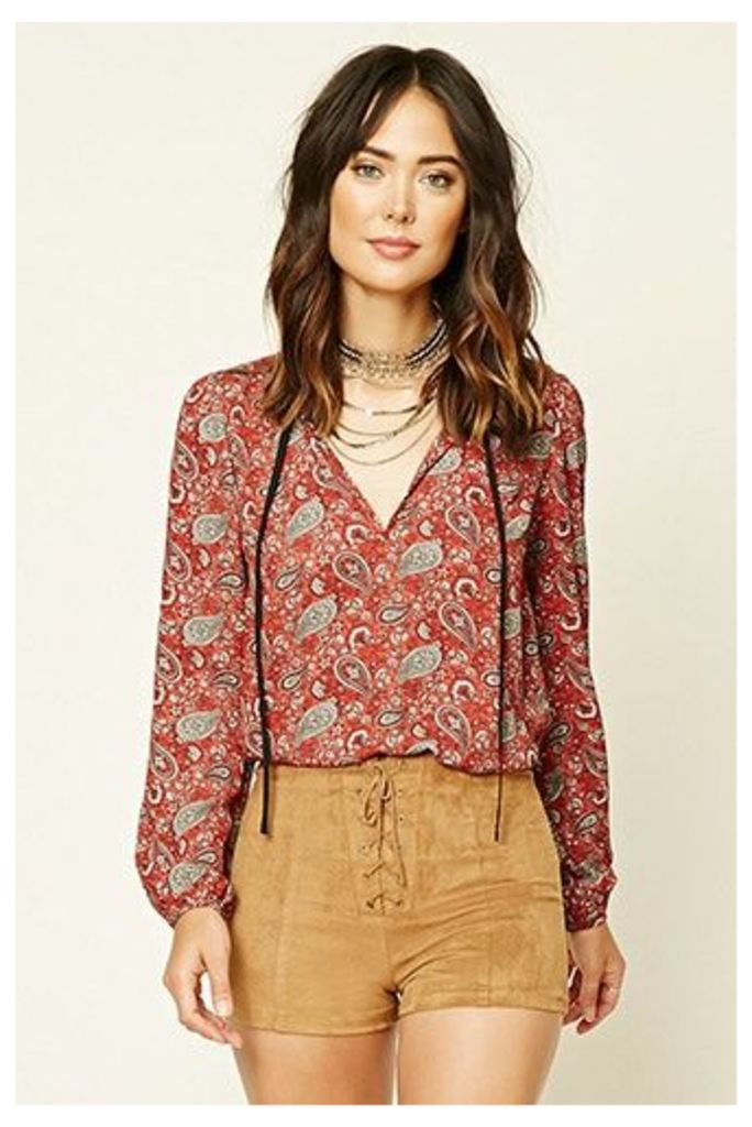 Contemporary Paisley Top