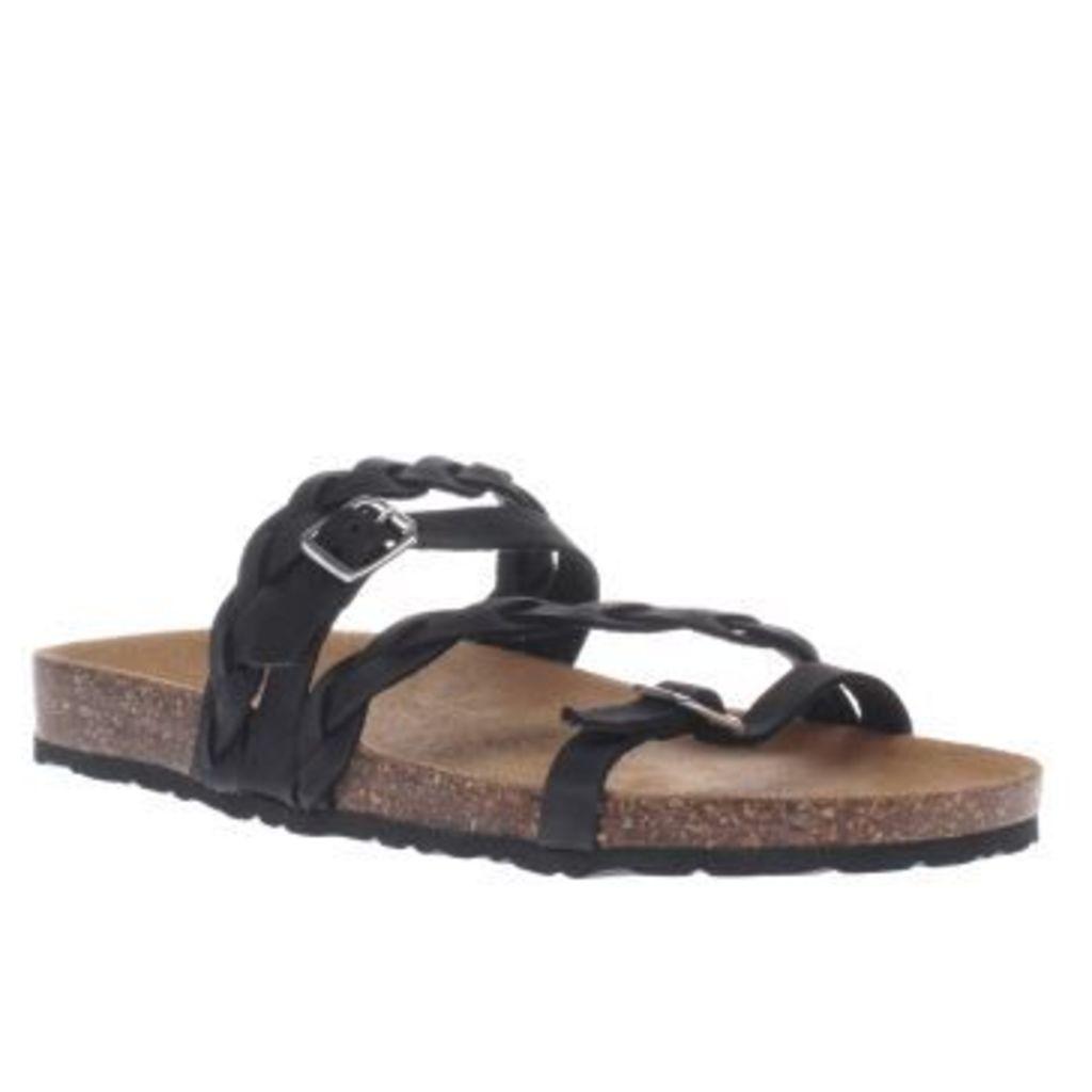 Schuh Black Zodiac Womens Sandals