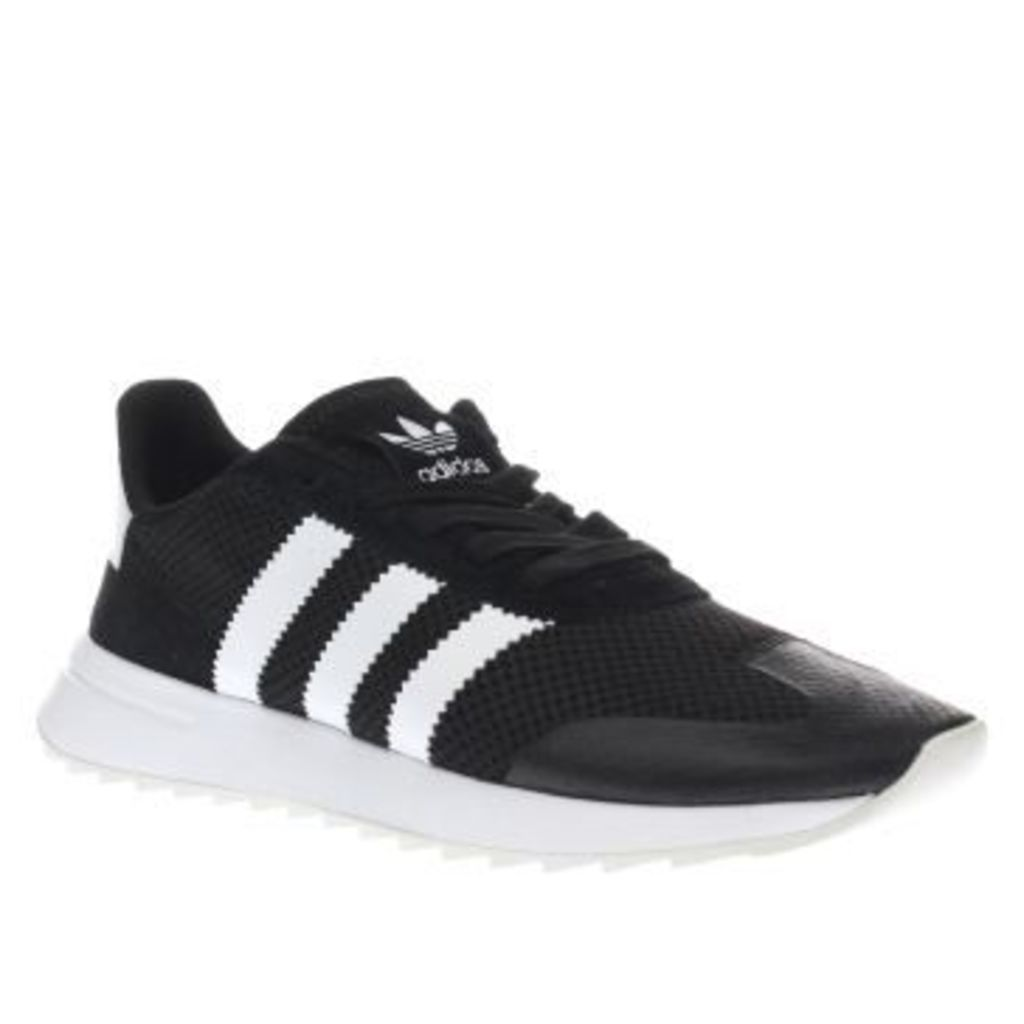 Adidas Black & White Flashback Womens Trainers
