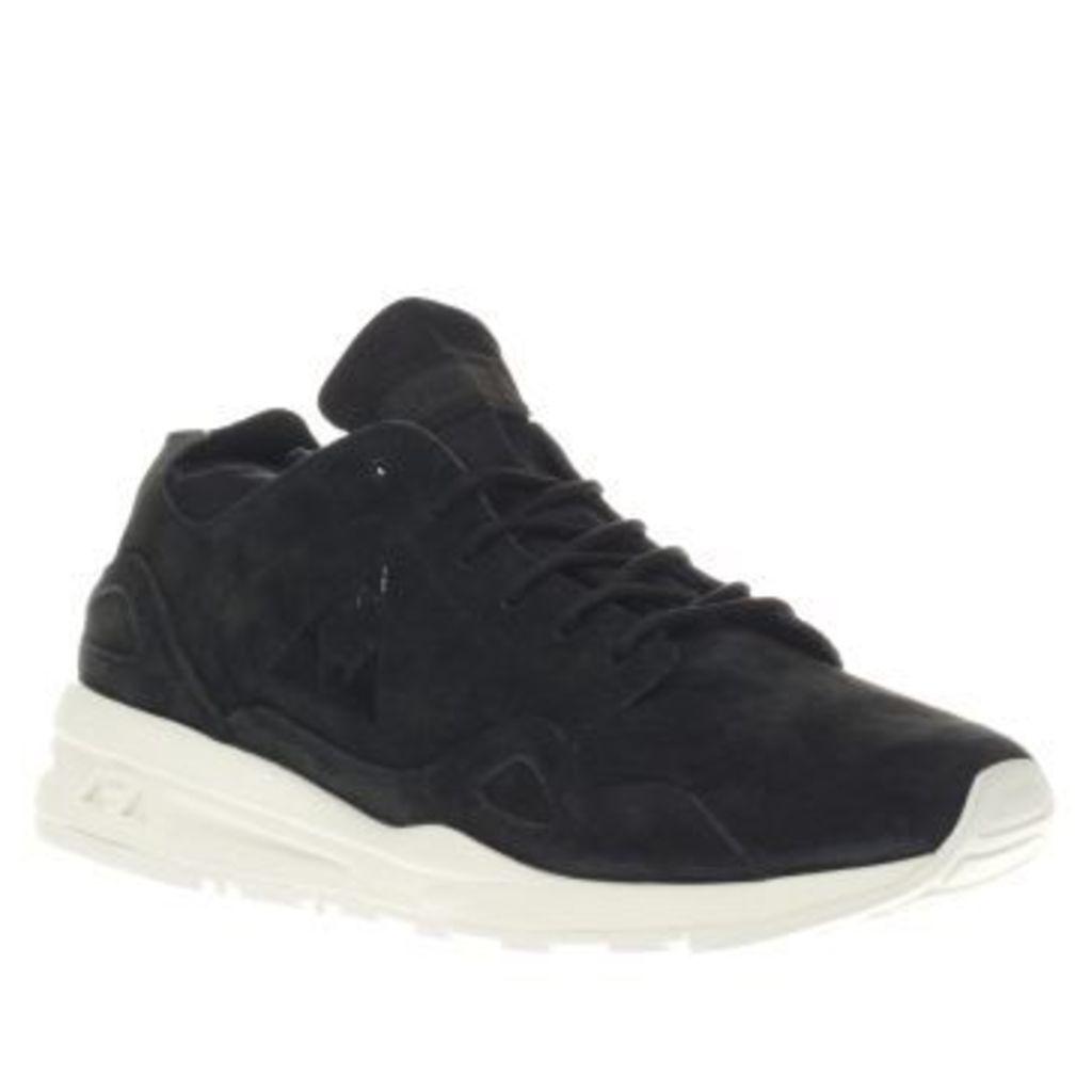 Le Coq Sportif Black & White Lcs R Flow Womens Trainers