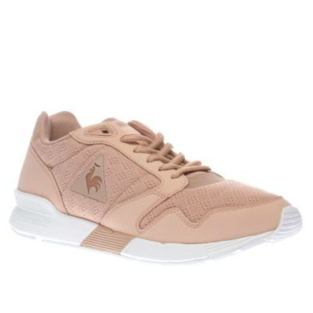 Le Coq Sportif Pale Pink Omega X Reflective Womens Trainers