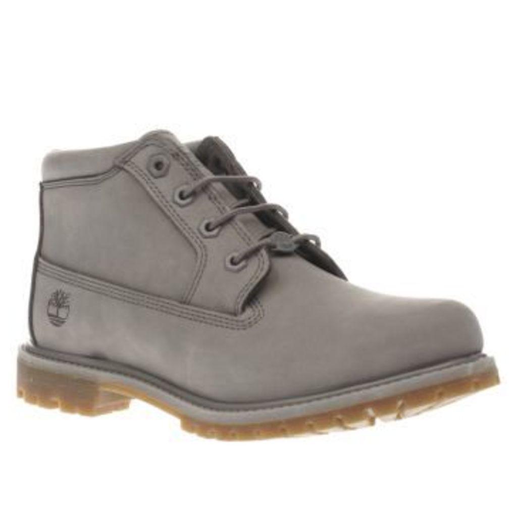 Timberland Light Grey Nellie Chukka Double Womens Boots