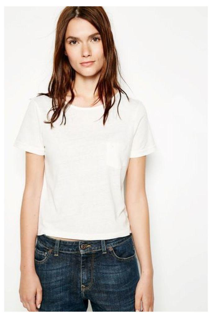ALDHOUSE T-SHIRT VINTAGE WHITE