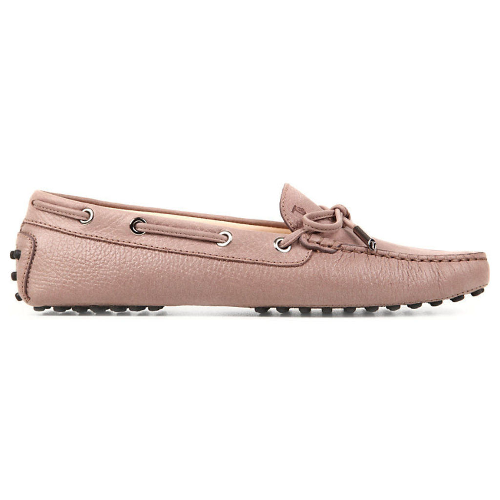 Tods Gommino Heaven Driving Shoes in Leather, Women's, EUR 39.5 / 6.5 UK WOMEN, Brown