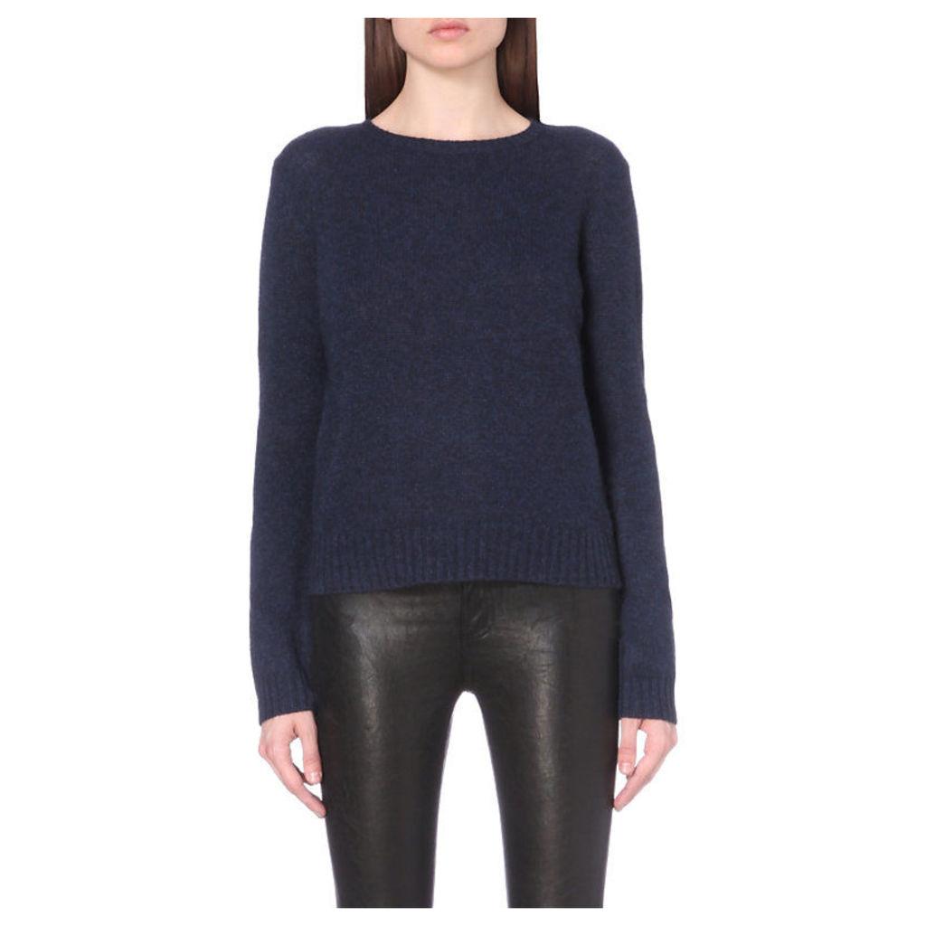 360 Cashmere Nini Cashmere Jumper, Women's, Size: Small, Blue