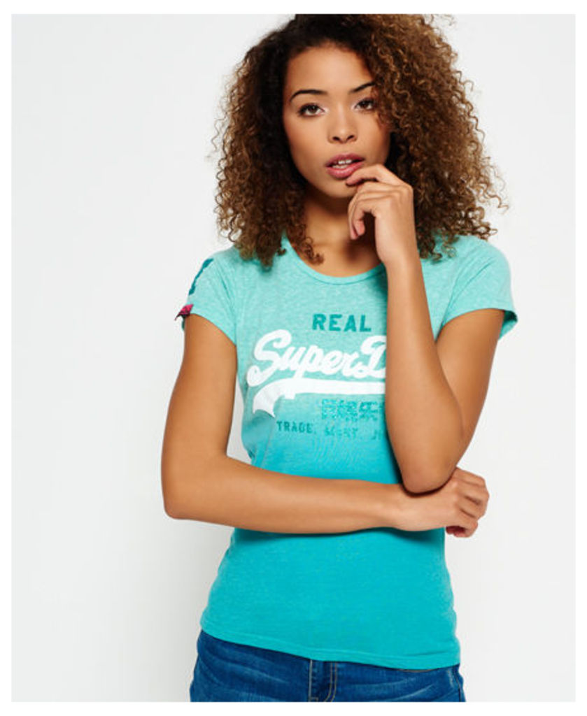 Superdry Vintage Logo Snowy T-shirt