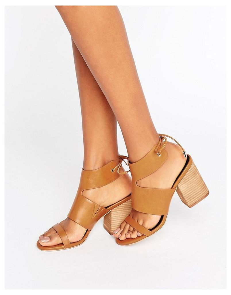 ASOS TIMING Heeled Sandals - Tan