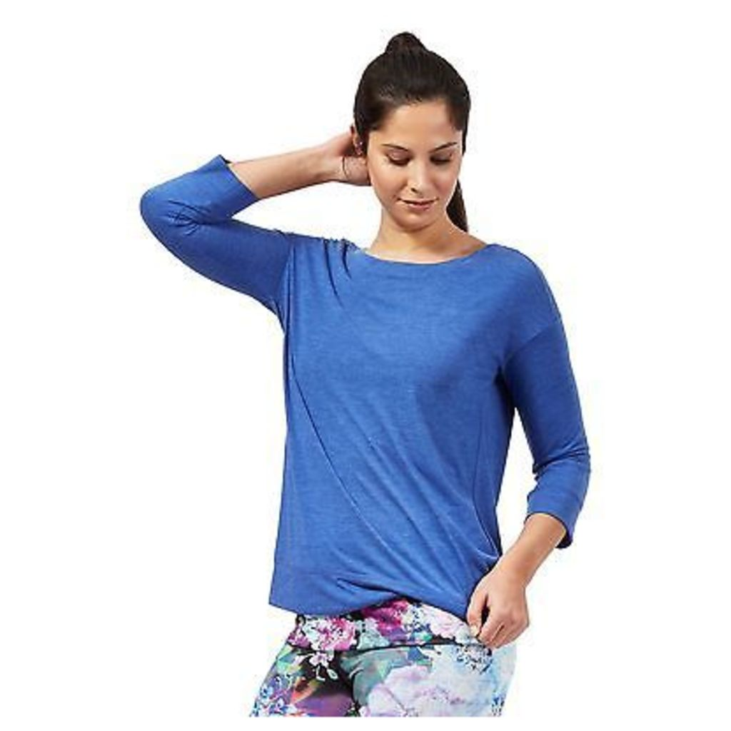 Red Herring Womens Blue 2-In-1 Floral Top From Debenhams