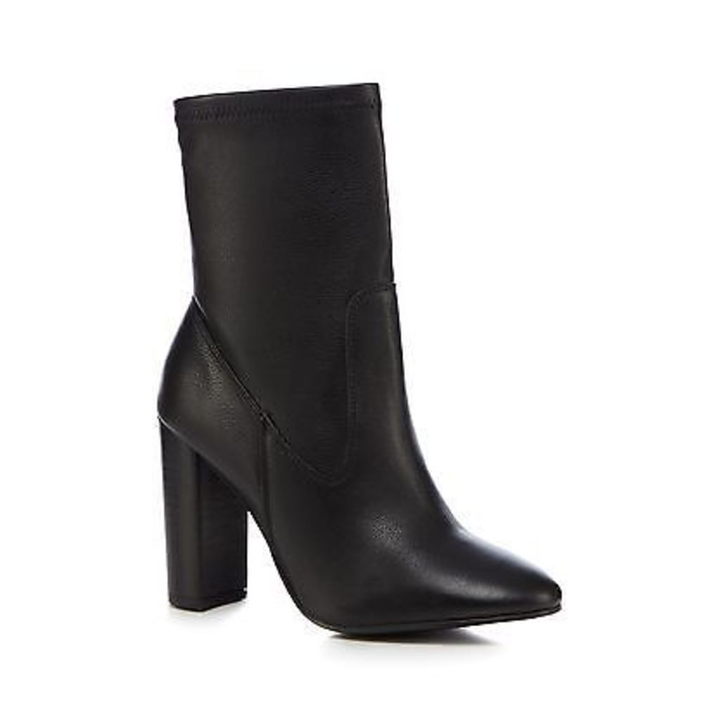 Faith Womens Black 'Beyonce' High Ankle Boots From Debenhams