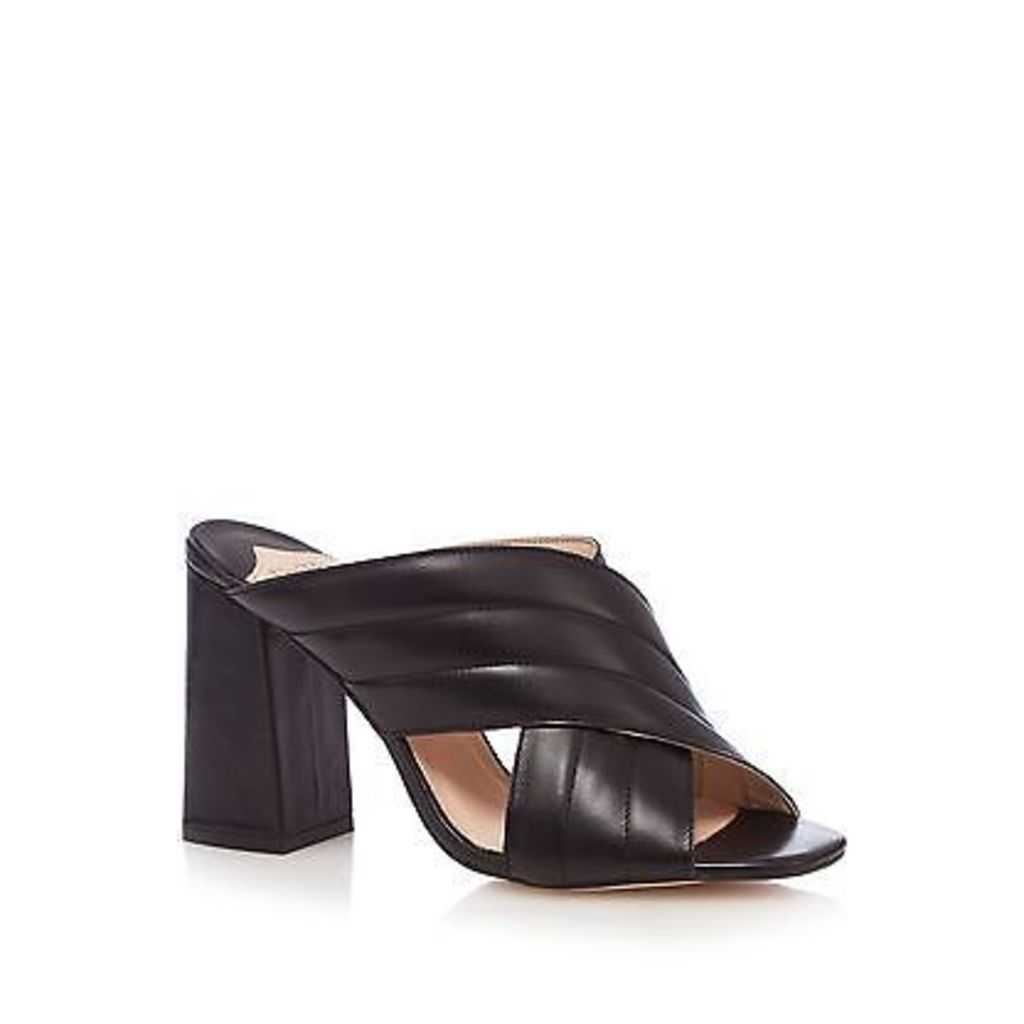 Faith Womens Black 'Diana' High Slip-On Shoes From Debenhams
