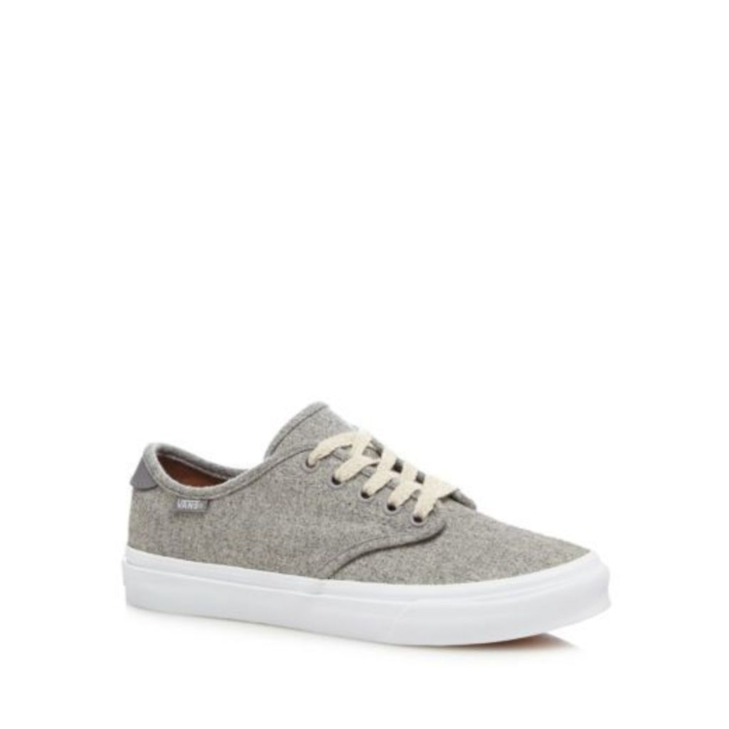Vans Womens Grey 'Camden Deluxe' Wool Trainers From Debenhams