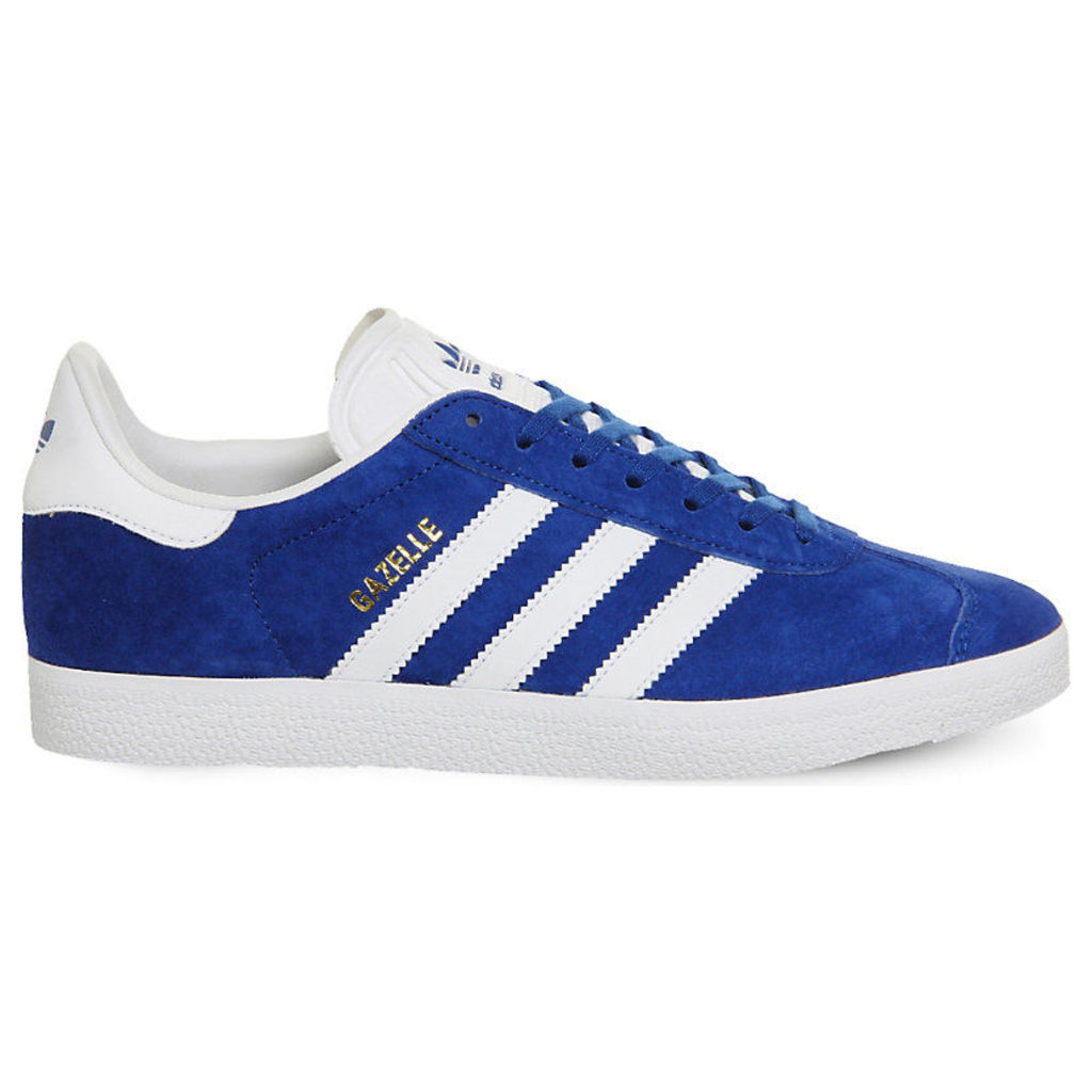 ADIDAS Gazelle lace-up suede trainers, Women's, Size: 6, Royal White