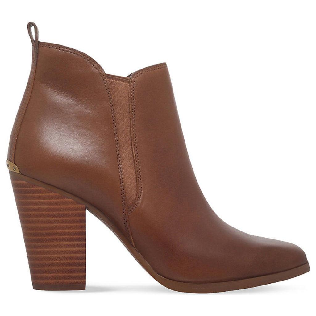 MICHAEL MICHAEL KORS Brandy leather ankle boots, Women's, Size: EUR 41 / 8 UK Women, Tan
