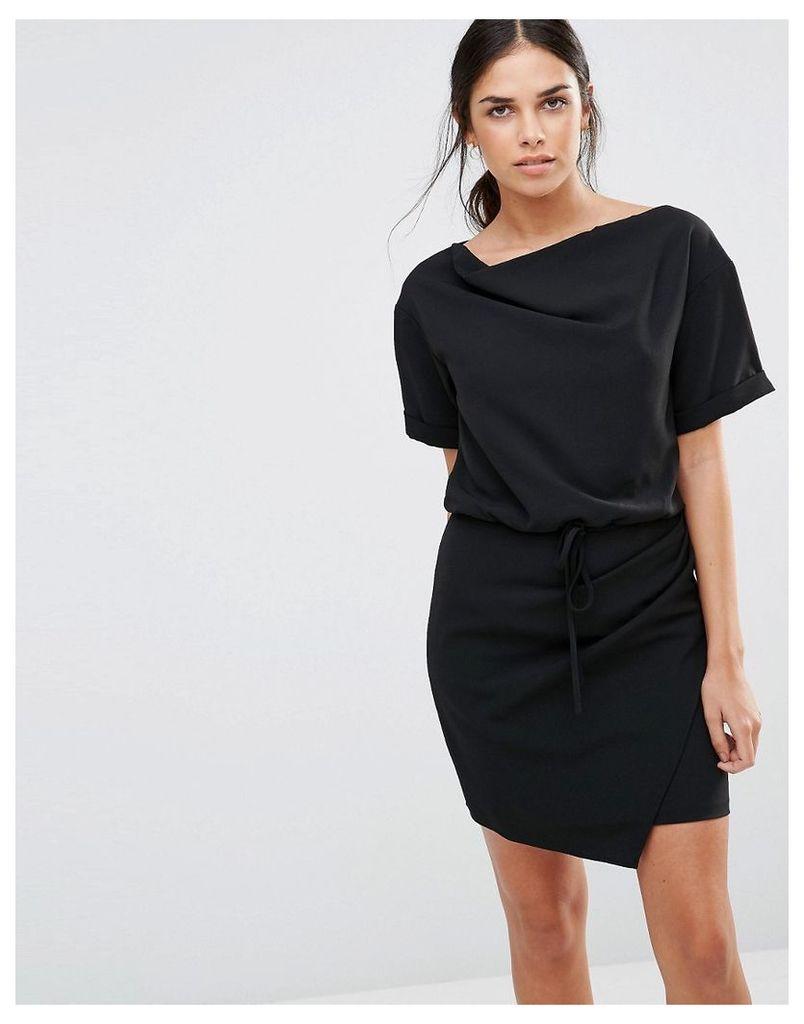 Isla Eclipse Mini Dress - Black