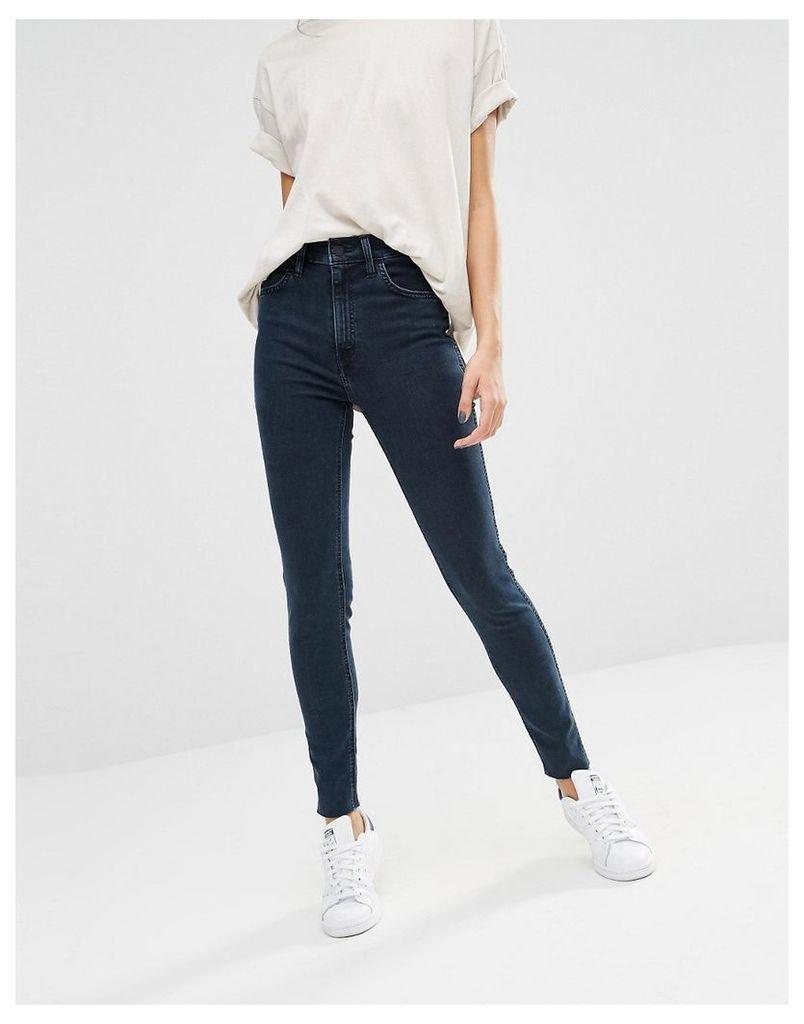 Levi's Line 8 Rebel High Rise Skinny Jeans - L8 birdie blue