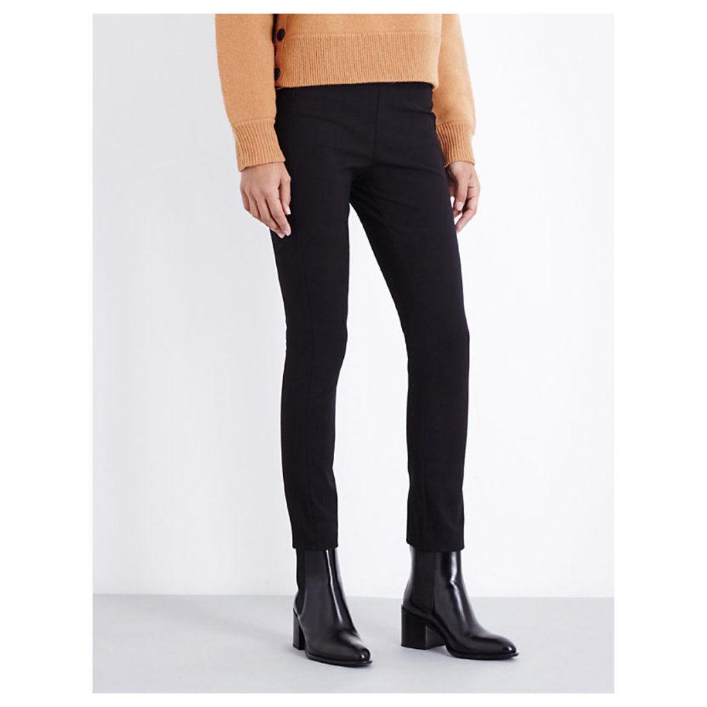 RAG & BONE Simone skinny stretch-cotton trousers, Women's, Size: 8, Black