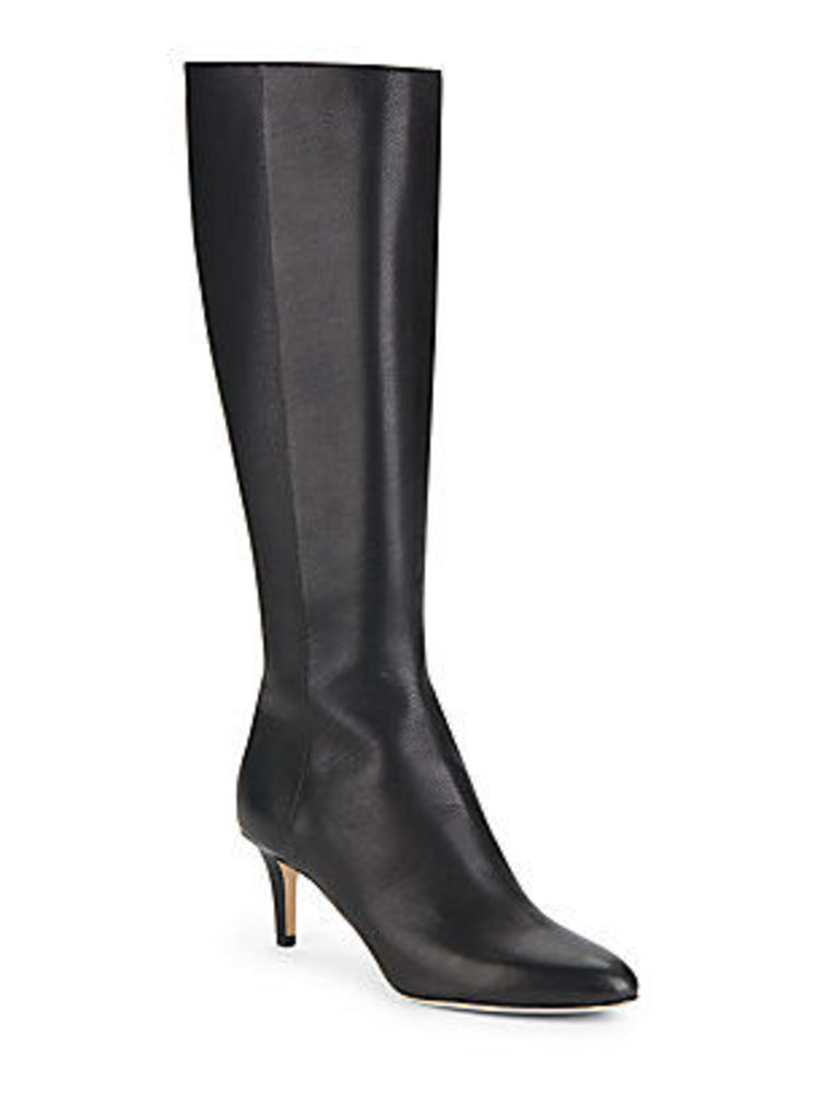 Gem Knee-High Leather Boots