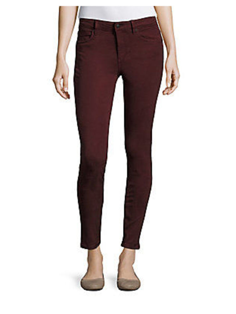 Posh Skinny-Fit Cropped Jeans