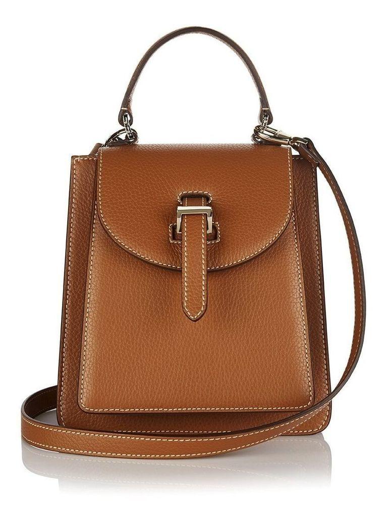Floriana Mini Cross Body Bag Tan