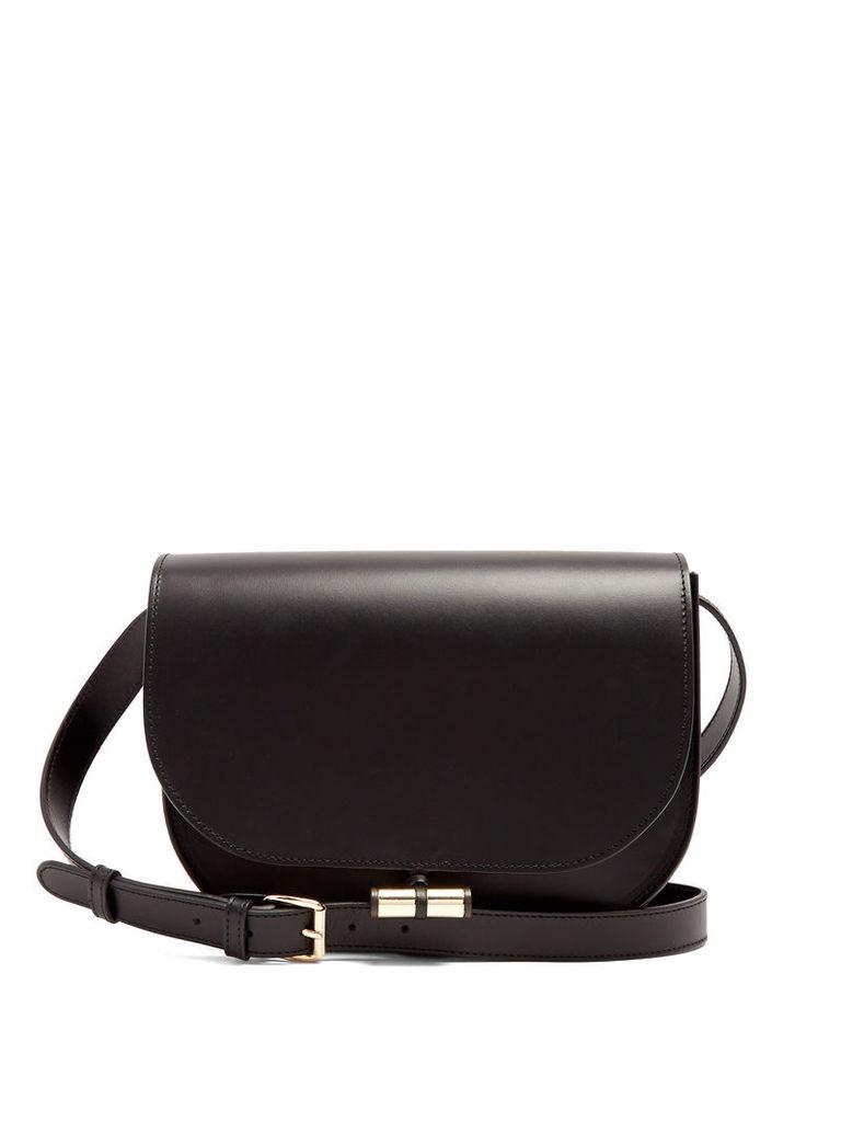 June leather cross-body bag