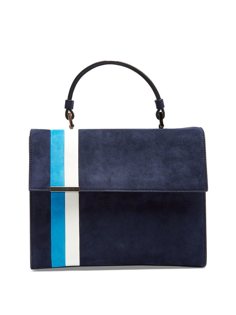 Stratoss suede tote