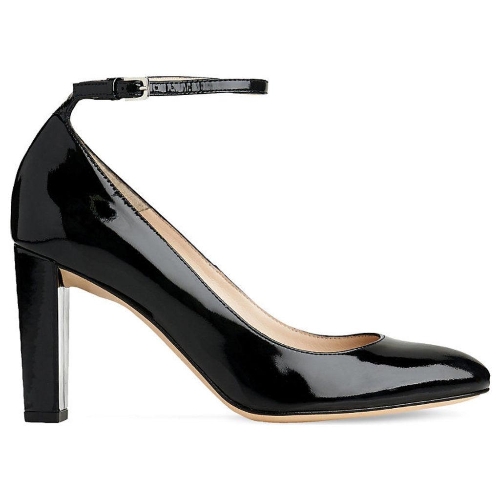 Imogen patent-leather court shoes, Women's, Size: EUR 41 / 8 UK Women, Bla-Black