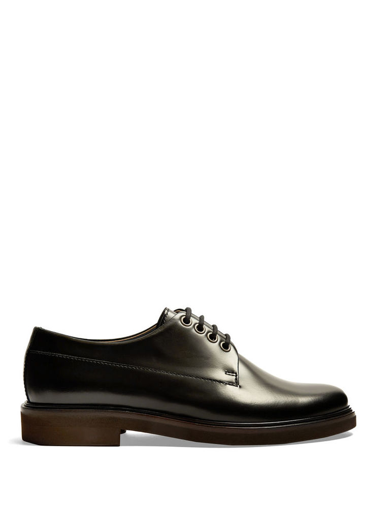 Eleonore leather derby shoes