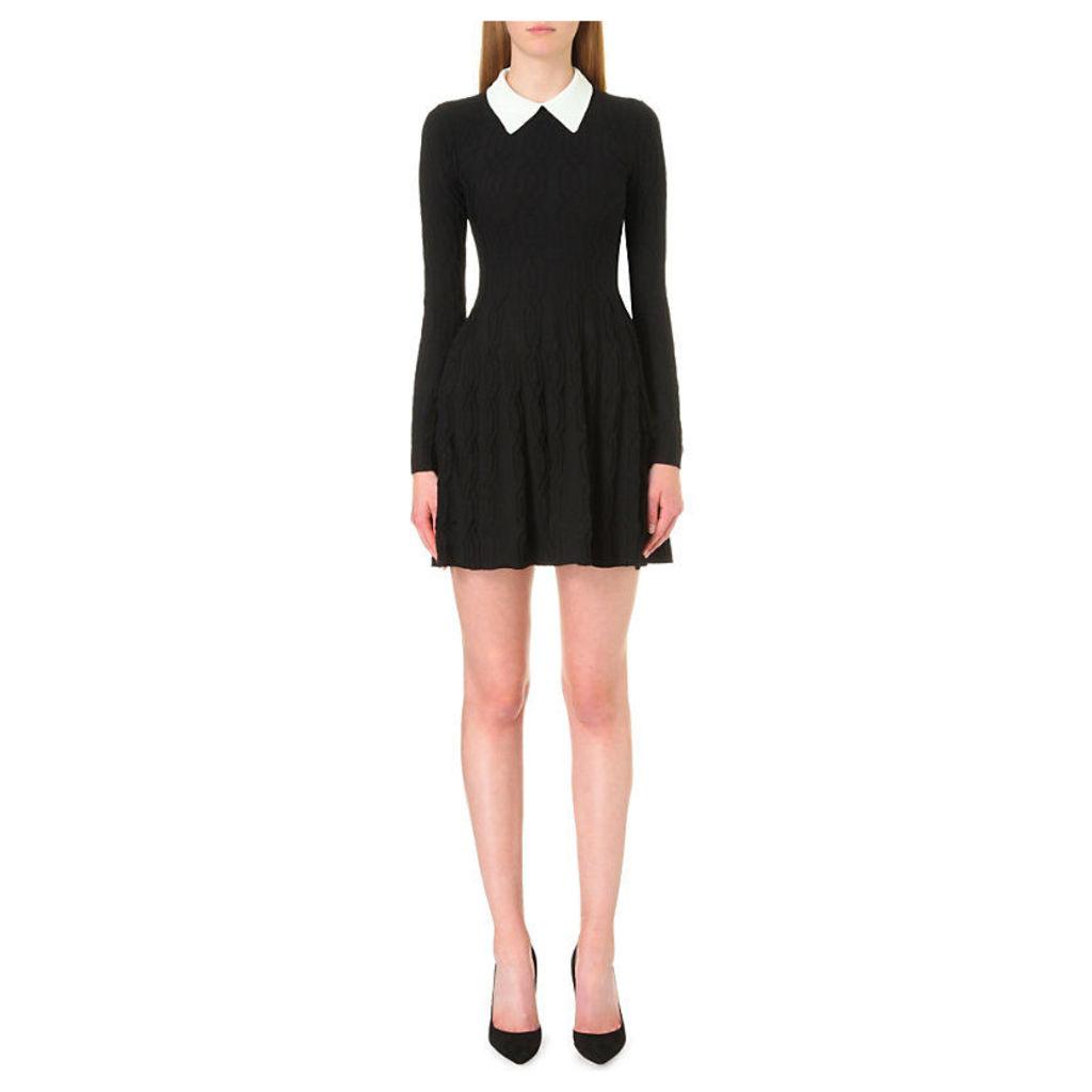 Christal knitted dress, Women's, Size: Medium, Noir