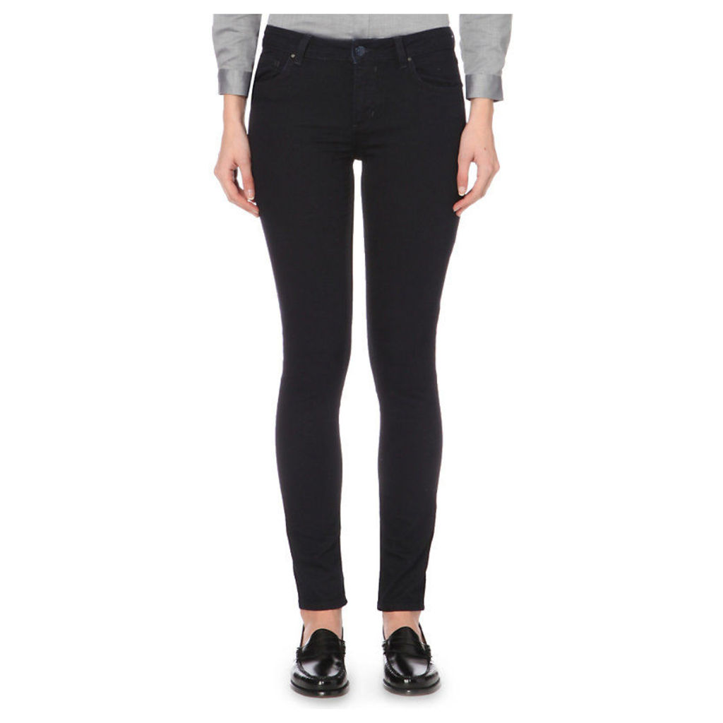 Power skinny mid-rise jeans, Women's, Size: 8, Marine
