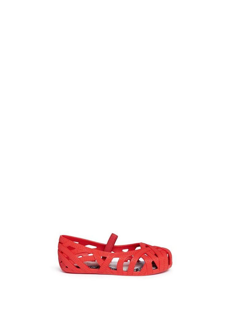 x Jason Wu 'Jean' ribbon effect cutout toddler flats